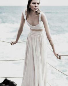 Wedding Gown Inspiration: Softly Pleated / Wedding Style Inspiration / LANE (instagram: the_lane)