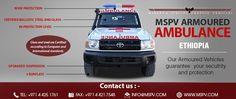 Armored or Bulletproof Ambulance ETHIOPIA