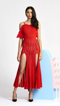 alice McCALL Room Is On Fire Dress Red