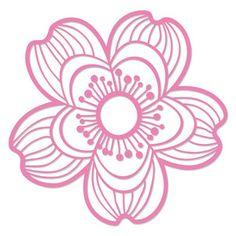 Silhouette Design Store - Search Designs : cherry blossom