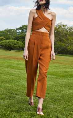 See the complete Rosetta Getty Resort 2018 collection.See the complete Rosetta Getty Resort 2018 collection. High Fashion, Fashion Show, Fashion Outfits, Womens Fashion, Fashion Design, Fashion Trends, Fashion Fashion, Stylish Outfits, Beige Outfit