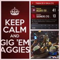 2013 Cotton Bowl Champs! WHOOP...Did anybody hear the slap when we SPANKED that booty?