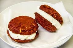 Red Velvet Cookie Sandwiches Recipe - Two Classy Chics