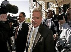 Republican Rep. Bob Ney, was sentenced to   thirty months for conspiracy to defraud the   United States and to a charge of falsifying   financial disclosure forms.  Specifically, Ney   conspired to help Jack Abramoff and his clients   with luxury vacation trips, skybox seats at   sporting events, campaign contributions and     expensive meals. Also, tens of thousands of dollars in the form of gambling chips.