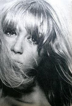 Pattie Boyd photographed by David Bailey. TIQ (Dutch) magazine November 1966