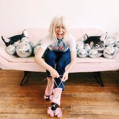We got the chance to chat with Jen Gotch of ban.do for our girl boss series on the business blog about being the creative leader of such a super fun brand.