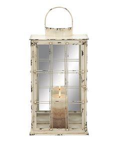 Look at this #zulilyfind! Metal Lantern by UMA Enterprises #zulilyfinds