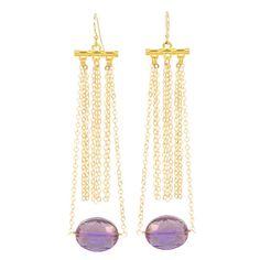 Pola Candy Drop Earrings in Violet