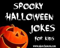 Spooky Halloween Jokes for Kids - About A Mom