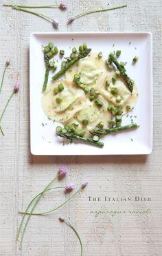 Best Recipes of the Week - Easy Asparagus Ravioli