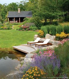 a Blade of Grass | Landscape Design and Maintenance in Wayland, MA | Boston Design Guide