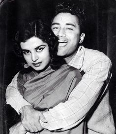Dev Anand with wife Kalpana Kartik