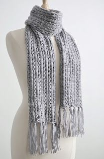 Robin Ulrich Studio: New Knitting Pattern - Frostlight Scarf