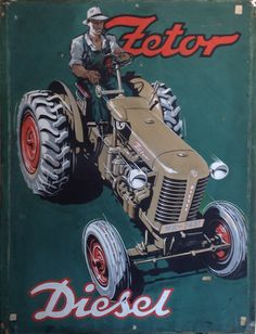 Vintage Advertisements, Vintage Ads, Yanmar Tractor, Tractor Attachments, Compact Tractors, Classic Tractor, Ford Tractors, Vintage Tractors, Vintage Metal Signs