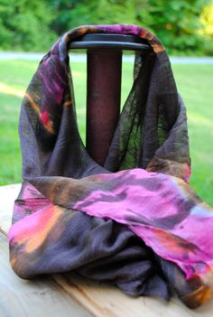 This scarf from Thailand adds a soft touch of color Thailand, Scarves, Touch, Color, Fashion, Scarfs, Moda, Fashion Styles, Fasion
