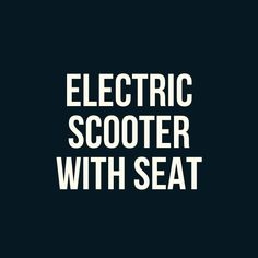 You'll find 2 of these are electric scooters with seat. These are URB-E folding electric scooter and Ojo electric scooter. These are a bit expensive escooters but if you can handle the price tag you're going to be satisfied with performances and quality. Join us and read this post!  #electricscooter #escooter #electricscooters #escooters #voltagerider #ojoscooter #urbescooter #urbe #foldingescooter #electricscooterwithseat #escooterseat #seatedescooter Electric Scooter With Seat, E Scooter, Join, Handle, Knob