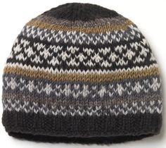 Orkney Beanie - Charcoal - Pachamama
