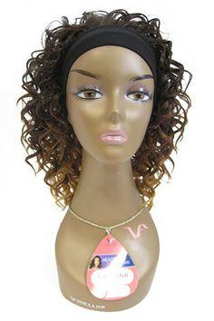 HB-Tina - Synthetic Hair Headband Wig - Vivica Fox| Laissez Faire Hair
