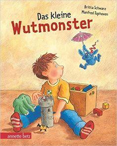 Das kleine Wutmonster: Geschenkbuch-Ausgabe: Amazon.de: Britta Schwarz, Manfred… Film Books, Book Club Books, Great Books To Read, New Books, Toddler Books, Baby Books, Baby Family, Reading Strategies, Cheer Up