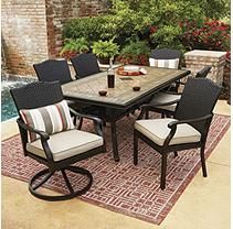 Memberu0027s Mark Heritage Dining Set With Sunbrella Fabrics, By Agio