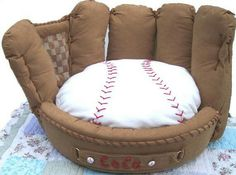 Babe, we need this for the dogs! Personalized Baseball Mitt Pet Bed by FastigesMadeWithLove on Etsy This is the perfect gift for the ultimate sports fan in your life.It's a baseball glove!With a Baseball! Baseball Mom, Baseball Stuff, Baseball Chair, Espn Baseball, Tigers Baseball, Baseball Equipment, Baseball Furniture, Baseball Cross, Baseball Numbers