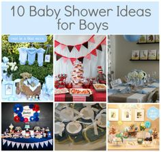 "Baby Boy Shower Ideas ""simple and chic"" for Ari"