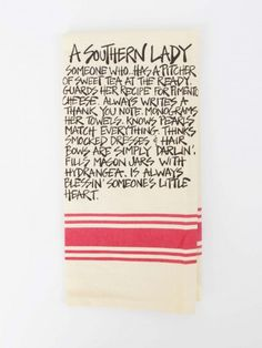 Southern Lady Hand Towel #MyAltardState