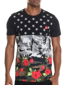 Triple Print Floral Camo Tee - that should be mine!
