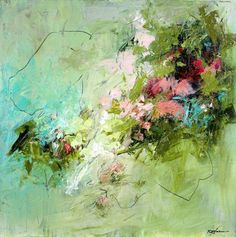 ART: abstrakt in Szene Abstract paintings, Conn Ryder, Abstract Expressionism, Colorado abstract artist Contemporary Abstract Art, Contemporary Artists, Art Abstrait, Abstract Flowers, Painting Inspiration, Artwork, Art Paintings, Acrylic Paintings, Portrait Paintings