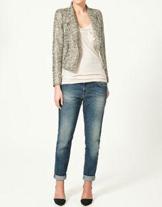 fec7614db95b BLAZER WITH ZIPS - Blazers - Woman - New collection - ZARA Costa Rica -  StyleSays