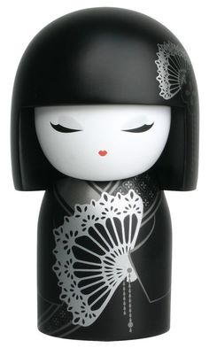 """Kimmidoll™ Maki - 'Dignified' - """"My spirit has poise and respectability. You live my spirit by showing composure and grace in every circumstance you face. May your dignity and quiet humility bring you the respect and esteem you deserve."""""""