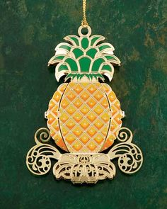 baldwin brass double sided pineapple ornament