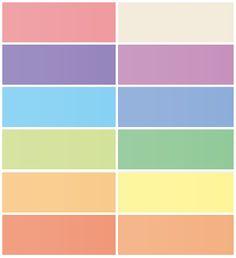 Free Blog Header Images in Plain Pastel Colors