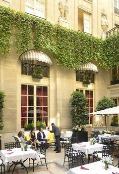 Hotel de Crillon - Terrace