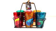Quirky kitsch cutting chai sets-Ganesha