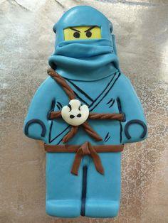 Lego Ninjago Cake Jay / Lego Ninjago Torte Jay by Kraulo, via Flickr
