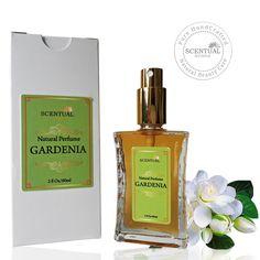 Organic Gardenia Perfume Oil, Natural Gardenia Perfume, Vegan Perfume, Natural Perfume Oil, Gift Idea by ScentualAroma on Etsy