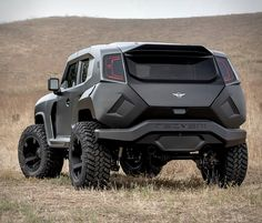 This beast you see here is the new 2020 Rezvani Tank, the most powerful production SUV in the world. This is an upgrade and update to the previous Tank, and is now available with a mighty Dodge Demon supercharged engine fettled to pump out ov Cool Trucks, Cool Cars, Armored Truck, Fj Cruiser, Monster Trucks, Futuristic Cars, Truck Accessories, Armored Vehicles, Custom Trucks