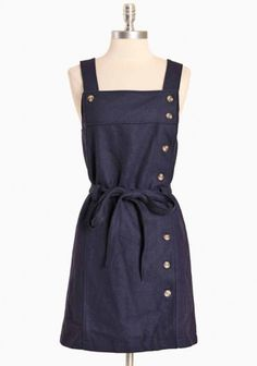Moffitt buttoned dress by Dear Creatures - Completed with an elastic cinched back for a flattering fit. Fully lined.