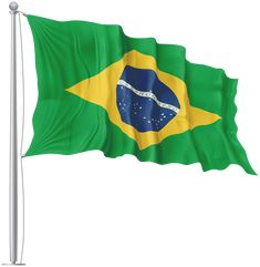 Brazil Waving Flag PNG Image | Gallery Yopriceville - High-Quality Images and Transparent PNG Free Clipart