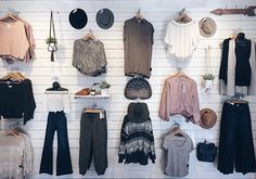Nothing better than a cute wall display | Women's fashion #hunnistyle