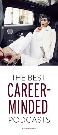 Listen to these and see your career horizons broaden // career tips