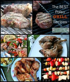 The Best Paleo Grill Recipes From Around the Web plus learn how to cook the perfect steak and whole chicken on the grill! | Primally Inspired