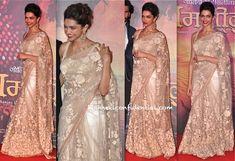 Deepika Padukone In Sabyasachi At Ramleela Trailer First Look Launch-1   for more inspiration visit www.shaadibelles.com