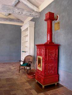 VIENNA Stove by LA CASTELLAMONTE STUFE
