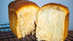 Sourdough Tangzhong Milk Bread Milk Bread Recipe, Knead Bread Recipe, Sourdough Recipes, Sourdough Bread, Hokkaido Milk Bread, Mexican Sweet Breads, Baking Basics, Great Recipes, Vegan Recipes