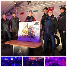 Dakar Sieger 2018 – Marlene Schaumberger Motocross, Biker, Champion, Fictional Characters, Artworks, Dirt Biking, Dirt Bikes, Fantasy Characters