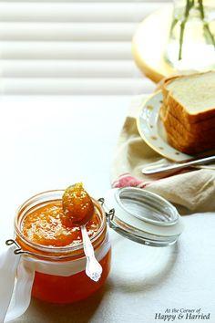 MANGO SAFFRON CARDAMOM JAM. A delicious homemade mango jam delicately ...