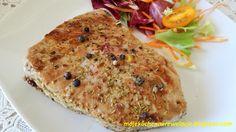 Moje                                                                       Kuchenne Rewelacje  : Steki z tuńczyka z rozmarynem i kolorowym pieprzem...