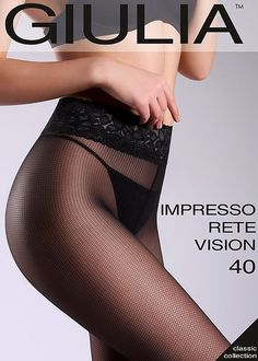 9c632d07d222a Giulia Impresso Rete Vision 40 Fashion Tights